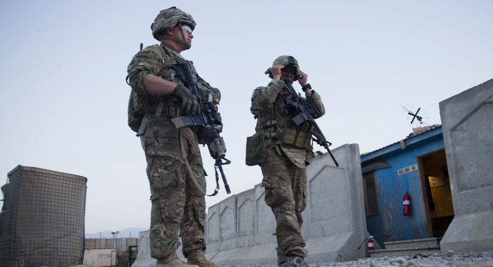 駐阿富汗美軍