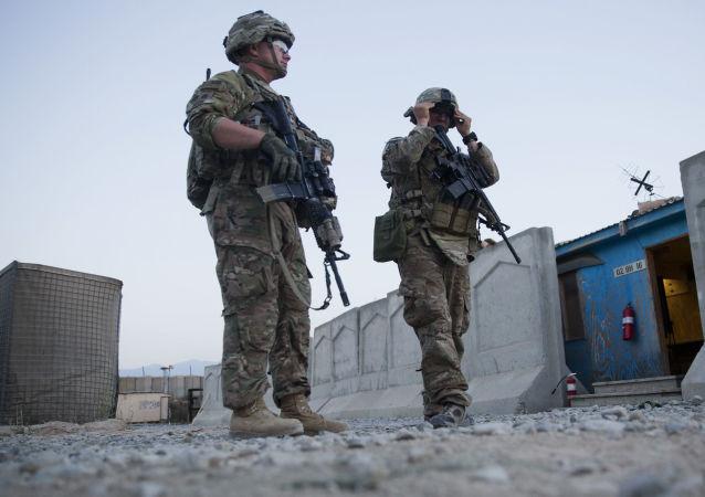 驻阿富汗美国军队