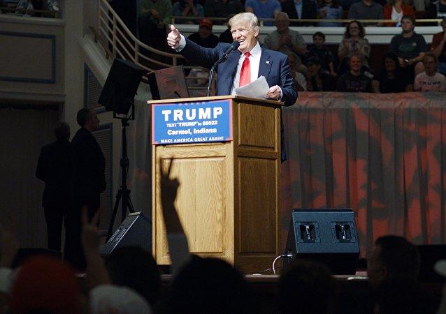 特朗普获得的党代表选票已足够被提名为总统候选人