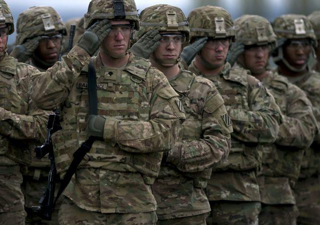 """美军在爱沙尼亚将参加""""冬令营""""演习"""