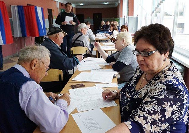 聂维洛夫: 统一俄罗斯党选举前投票平均支持率达到8%