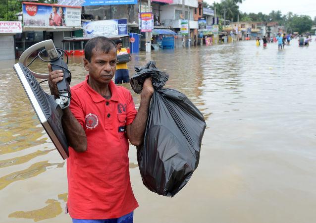 斯里兰卡洪水