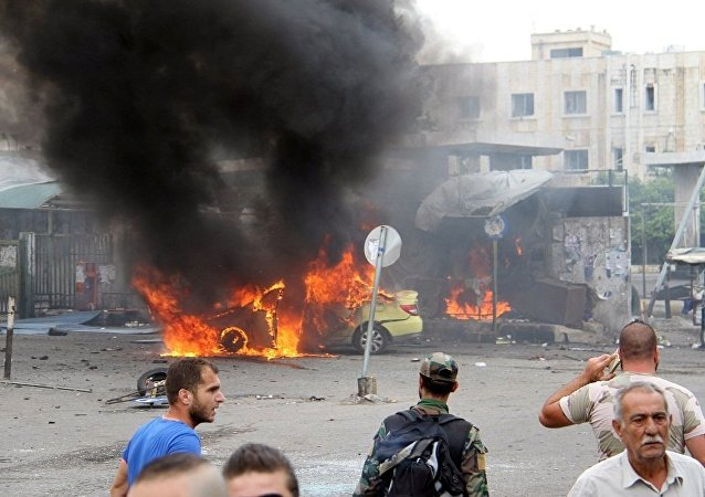 叙北部武装组织总部附近爆炸导致45人死亡