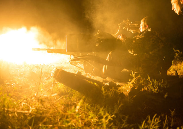 卢甘斯克民兵称一天内遭到乌军10次炮击