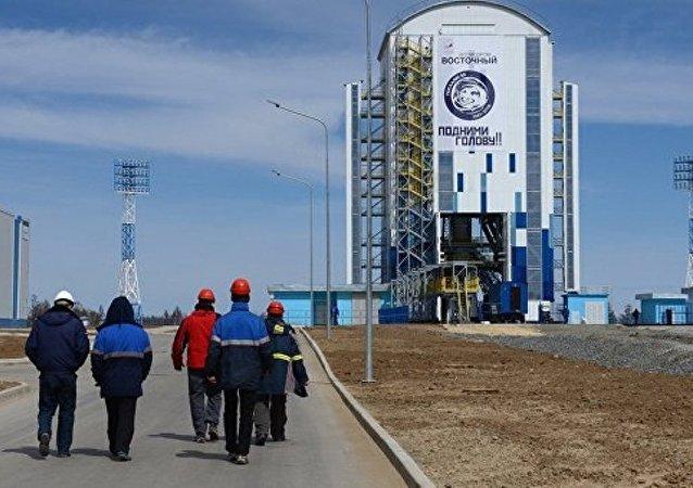 """俄航天集团:""""东方""""航天发射场二期工程建设已经开始2021年结束"""