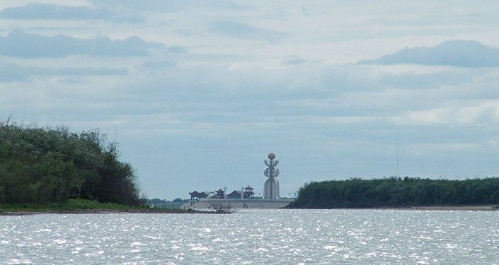 媒体:俄中或在大乌苏里斯基岛设边检站