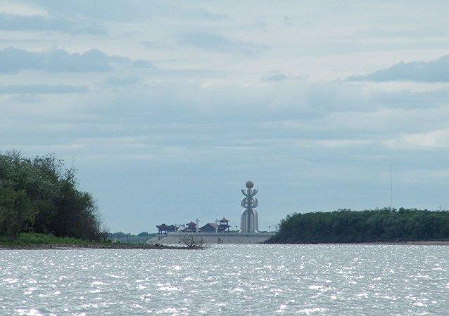 大乌苏里岛(黑瞎子岛 )