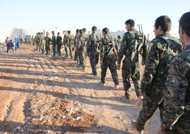 媒体:库尔德人向拉卡推进表明其受到外部支持