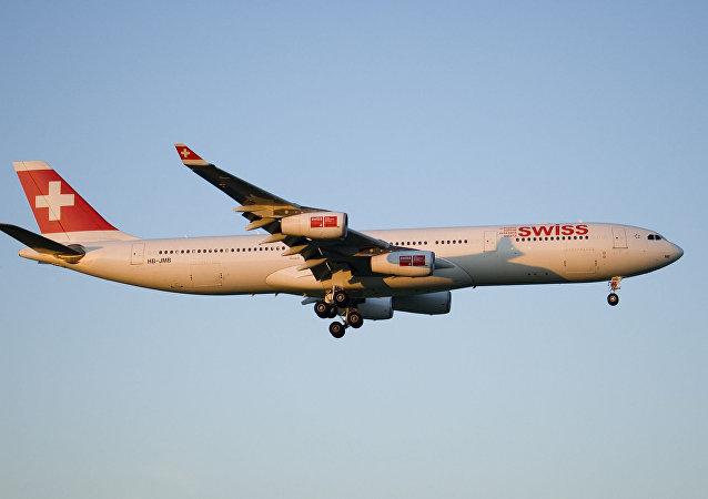 瑞士航空:飞行员22日曾看见疑似美机 但未改变航线