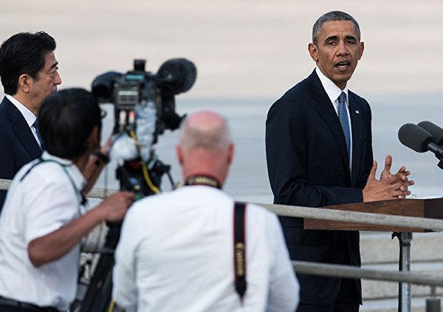 奥巴马在广岛