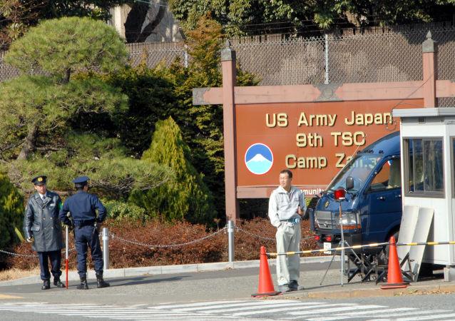 美军驻冲绳基地实施宵禁哀悼被杀日本女子