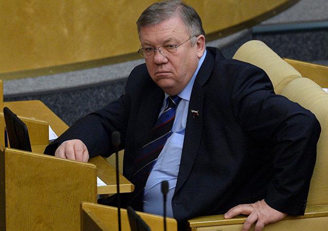 俄议员:北约前秘书长出任乌总统编外顾问不会促进俄乌关系改善