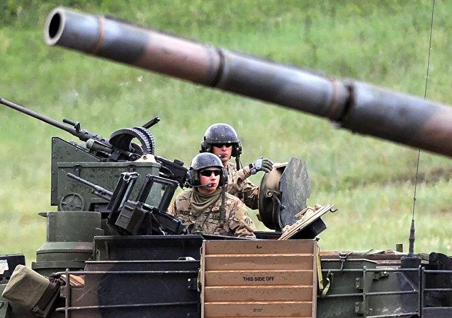 媒体:英国或在北约新计划下向波罗的海国家派出坦克