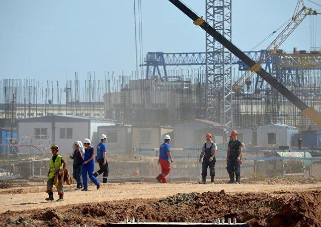 俄罗斯专家帮助白俄罗斯建设核电站