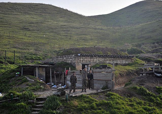 阿塞拜疆国防部称卡拉巴赫一天内发生9起破坏停火制度事件