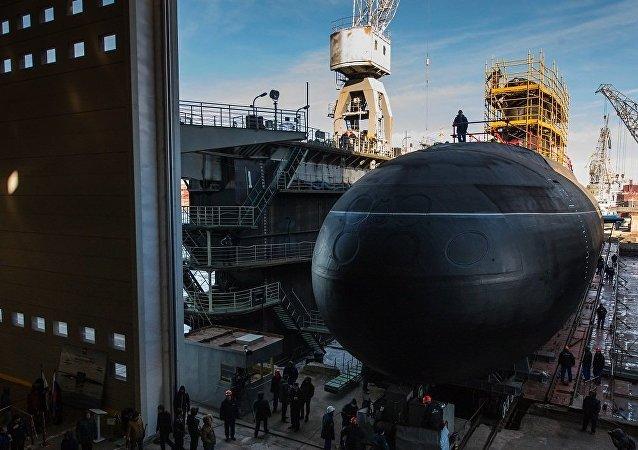 """636级华沙之歌型""""大诺夫哥罗德""""号潜艇"""