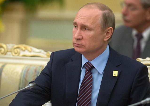 普京:俄罗斯支持重点发展欧亚经济联盟与上合组织及东盟合作