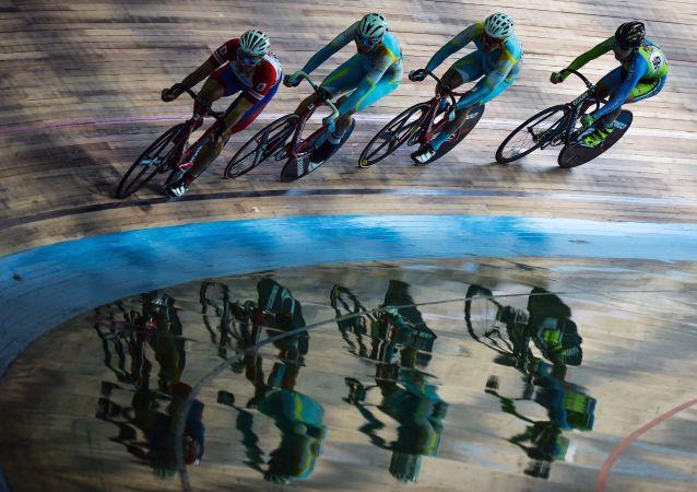 俄罗斯自行车运动协会会长:中国队在自行车短距离团体赛决赛中强于俄罗斯选手