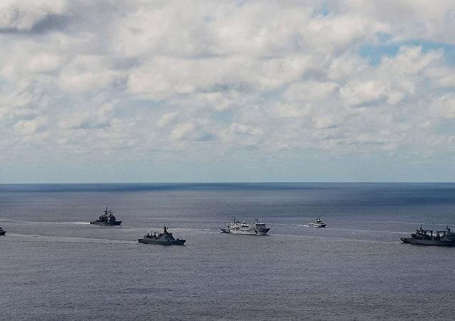环太平洋联合军演