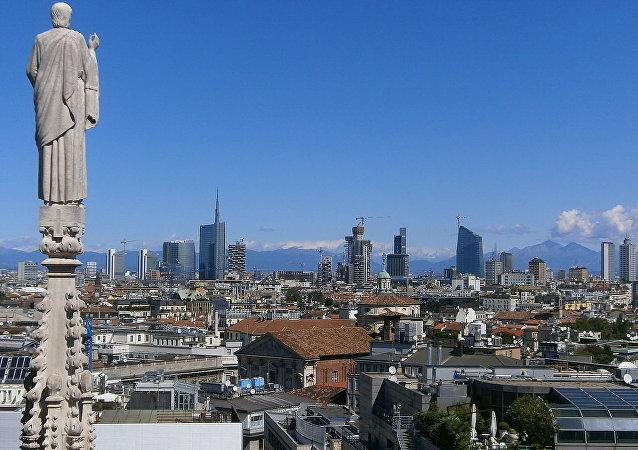 伦巴第大区的首府米兰