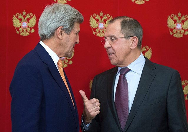 俄外长与美国国务卿会晤期间将讨论叙利亚阿勒颇和乌克兰局势