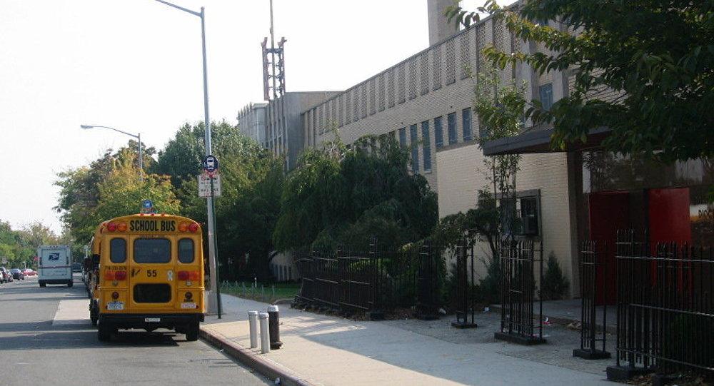 美國中學校