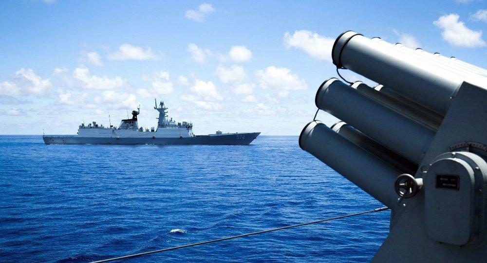 中国在南海问题上对美加大施压力度