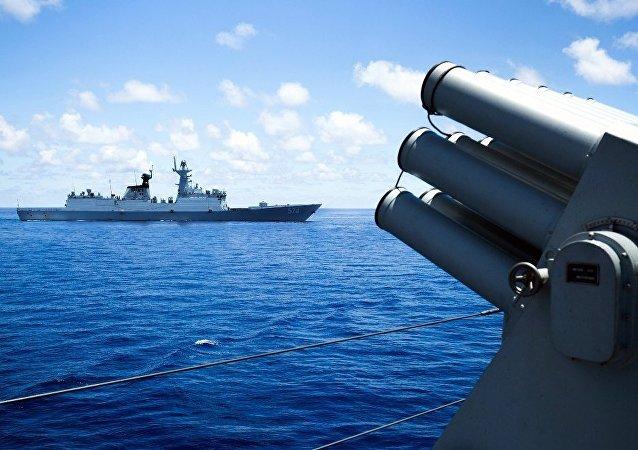 """中国外交部:中国明年将与东盟国家密集开展""""南海行为准则""""案文磋商"""