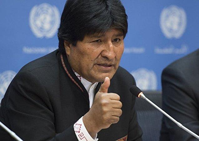 玻利维亚总统埃沃•莫拉莱斯