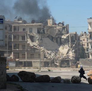 恐怖分子在阿勒颇发射火箭弹 平民5死29伤