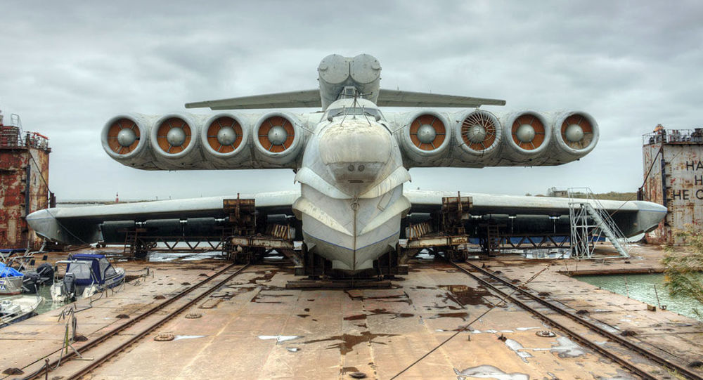 俄南部军区:全球唯一一艘导弹地效飞行器被拖送至杰尔宾特供展览之用