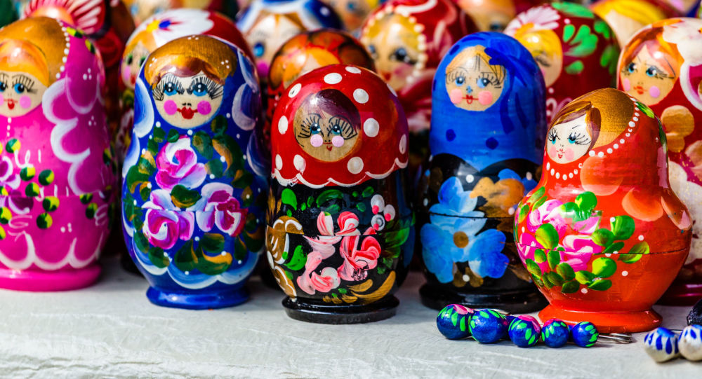 俄罗斯纪念品