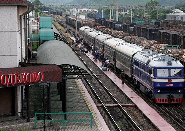 俄罗斯格罗捷科沃火车站