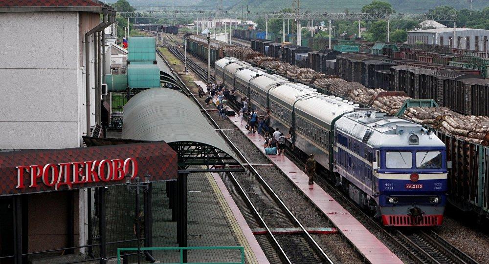 格罗杰科沃火车站