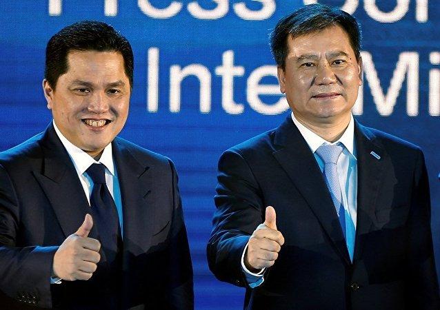 苏宁2.7亿欧元收购国际米兰68%股份