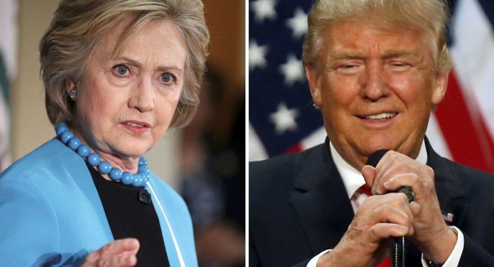 特朗普与克林顿