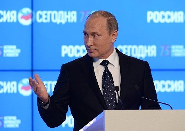 普京将在圣彼得堡经济论坛期间与40家外国大型企业领导进行会谈