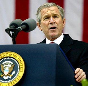 特朗普称小布什不给他投票的决定令人难过