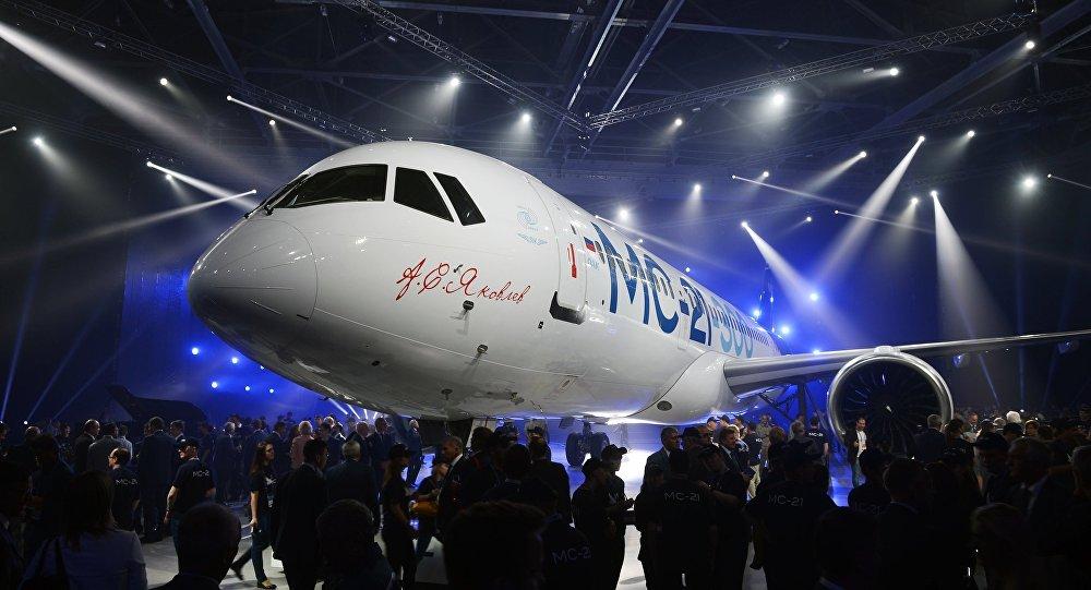 伊尔库茨克展出MS-21新型客机