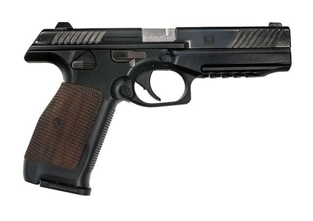 Концерн «Калашников» впервые представил прототип нового пистолета калибра 9х19мм «ПЛ-14» (Пистолет Лебедева)