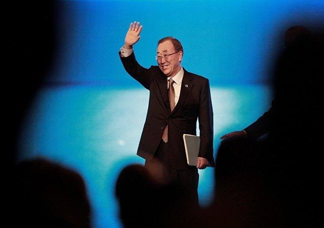 韩联社:潘基文不会参加韩国总统竞选