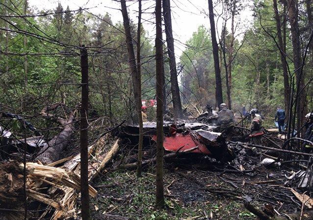 俄国防部:莫斯科郊区坠毁飞机系苏-27战机