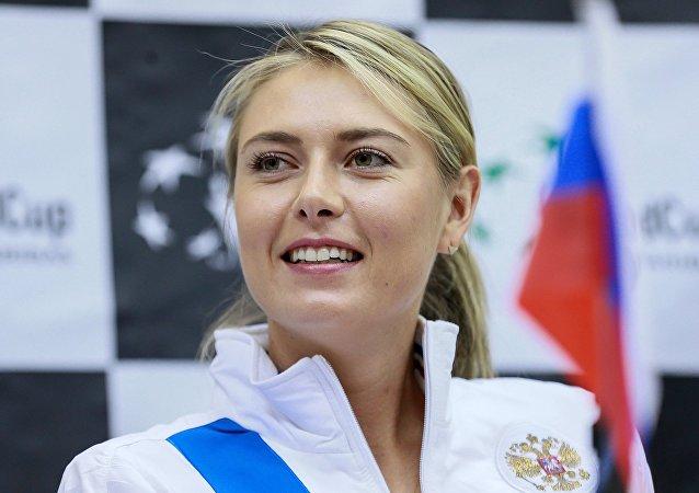 俄罗斯网球名将莎拉波娃