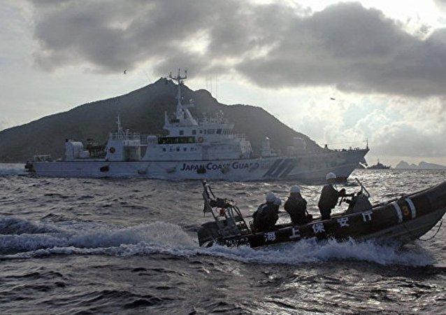 媒体:日本认为俄军舰未与中国协商出现在钓鱼岛附近