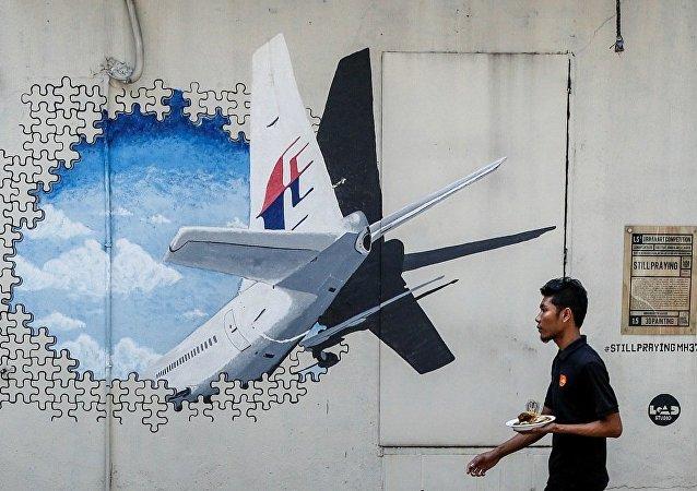 澳大利亚专家在研究三块疑似马航MH370的新残骸照片