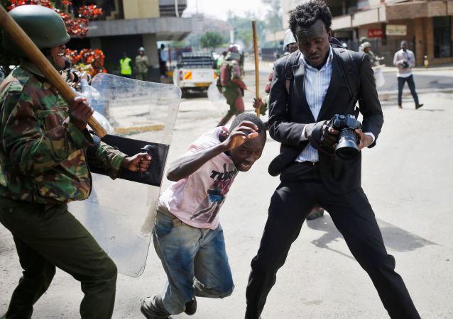 肯尼亚首都爆发大规模骚乱