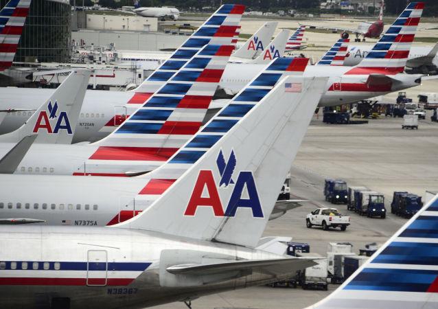 美航一架飞机因技术问题返航 4人被送医