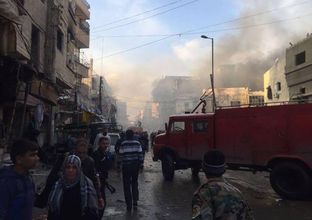 大馬士革兩起爆炸造成至少33人死亡,100多人受傷