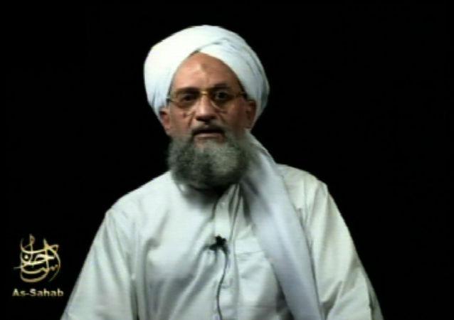 """国际恐怖组织""""基地""""组织头目艾曼•扎瓦希里"""