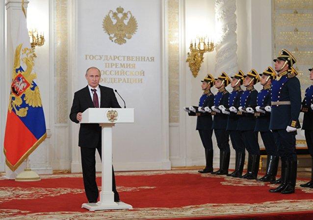 普京:俄政府应为解决最艰巨问题创造条件